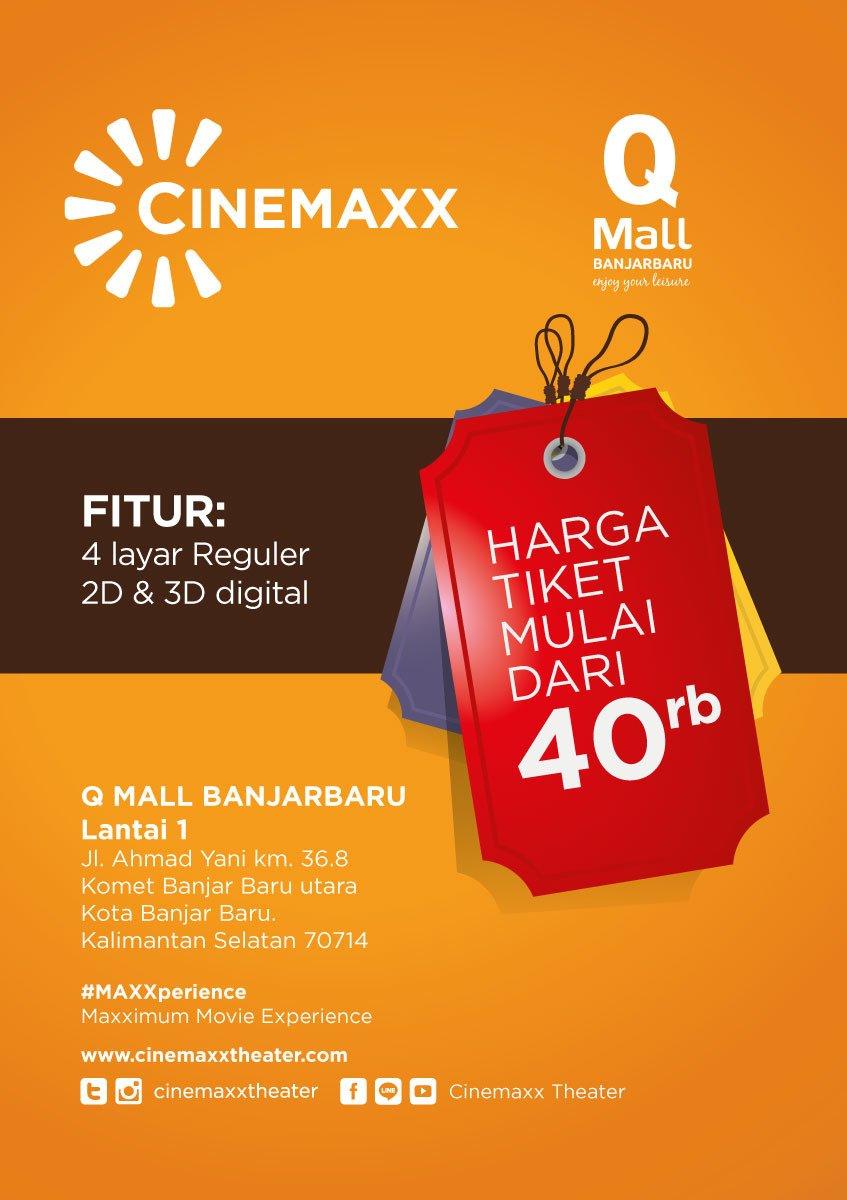 Cinemaxx Theater On Twitter Cinemaxx Akan Hadir Di Qmall