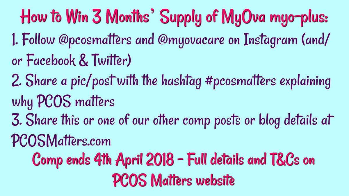 PCOS Matters on Twitter: