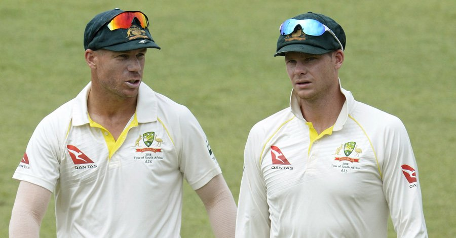 BREAKING: David Warner and Steven Smith banned for one year by Cricket Australia. Cameron Bancroft banned for nine months   https://t.co/ywUuoNUCjf