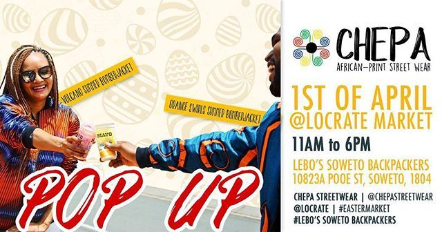 This is no APRIL fool! @chepa_streetwear will be at  @locratemarket this Sunday! #locrateweekend #letsbuildbrands https://ift.tt/2pN3sRD