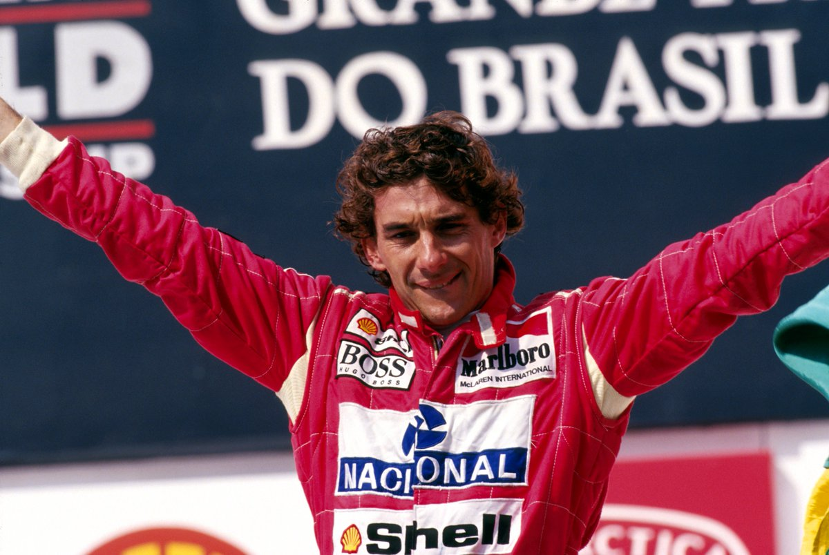 MARCH 28, 1993 📅  Ayrton Senna secured @McLarenF1's 100th #F1 win in Brazil 🏆  #OnThisDay #OTD