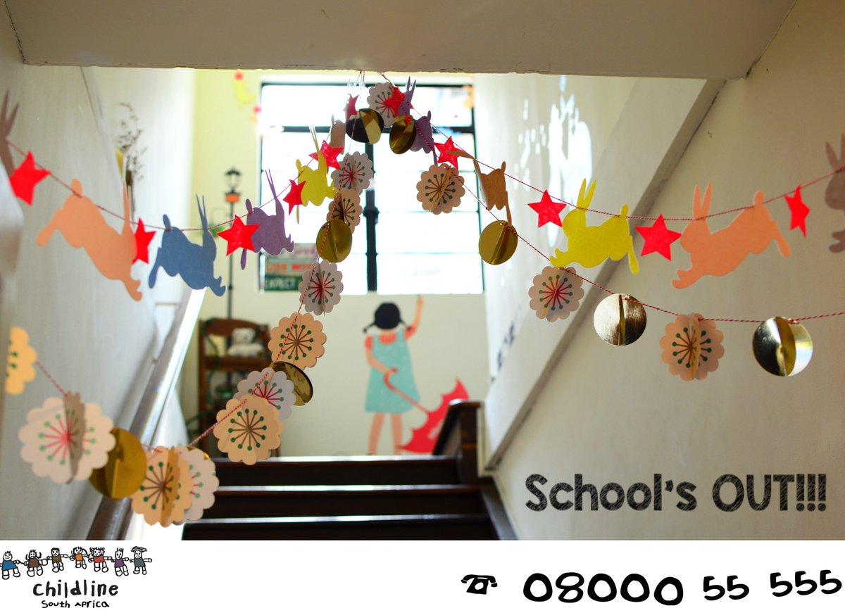 Fabulous Childlinesouthafrica On Twitter Schools Out Wishing Home Remodeling Inspirations Basidirectenergyitoicom