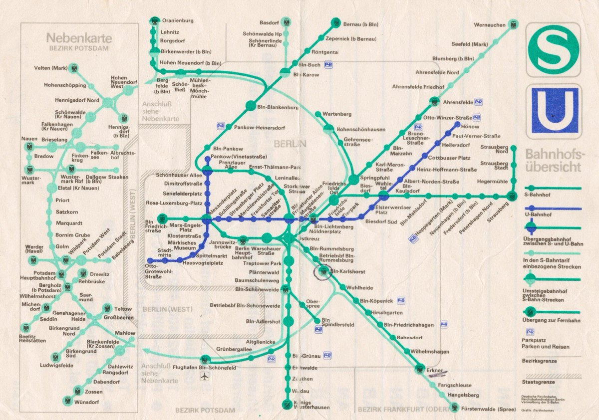 Berlin Wall Subway Map.Sandra Rendgen On Twitter As A Citizen Of Berlin I Love Their