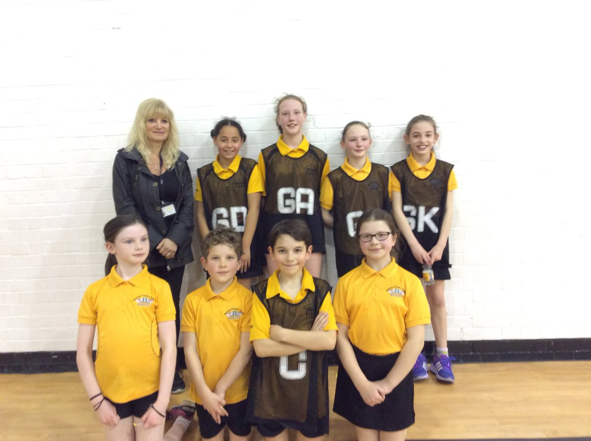 @RomileyPS Netball team won the Werneth Schools' Final. Well done team! We are proud of you and Mrs Lomax, your superstar coach!🏆🏐🏆🏐🏆🏐👍