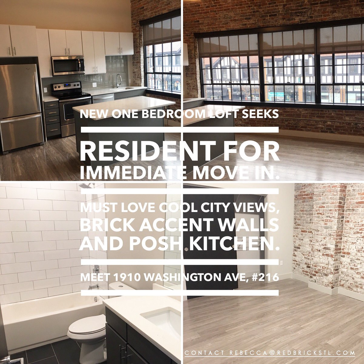 Red Brick On Twitter Meet Your New Home At The Beatrice Lofts 1bedroomloft Stl Stlliving Cityliving Apartments Downtownstl