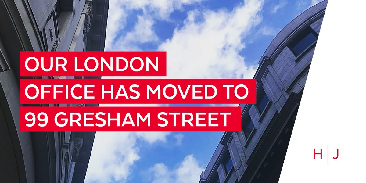 Hugh James On Twitter Last Month Our London Office Moved To Gresham Street Following Growth In The Capital Tco SvsOzTW85V