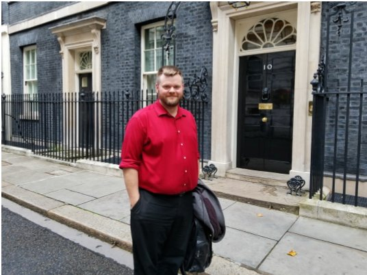 This is Jeff Silvester, boss of Vote Leave's Canadian data firm AIQ visiting Number 10 last autumn.  I'm told his AIQ colleague Zack Massingham went with him, and they also visited Conservative HQ.  Number 10 have yet to answer my question as to what their visit was about