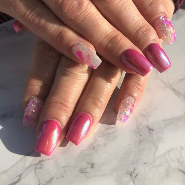 The Edge Nails On Twitter The Perfect Springtime Mani Created By