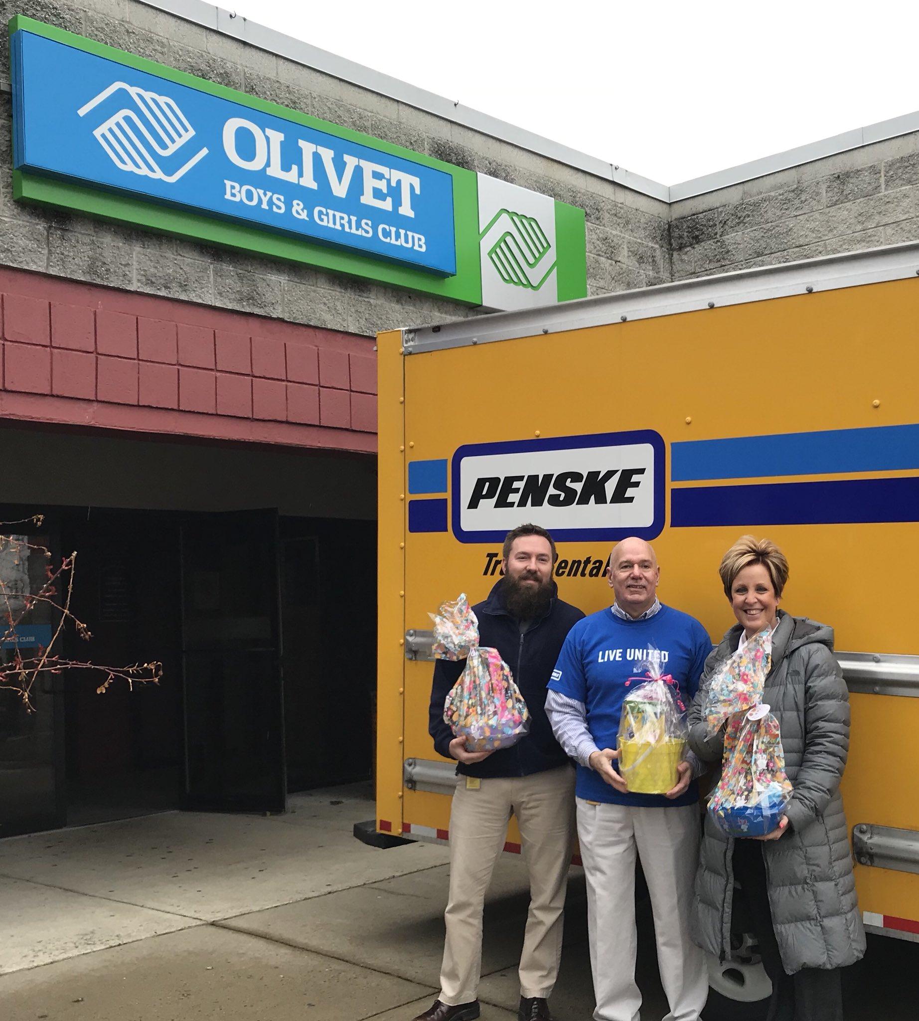 "Penske Truck Rental on Twitter ""RT OlivetBGC Amazing folks at"