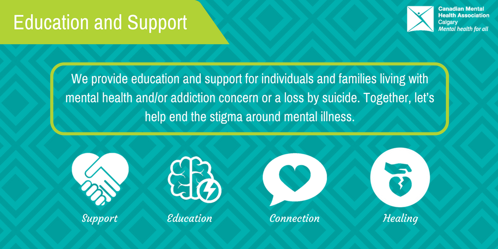 Cmha Calgary On Twitter We Provide Education And Support For