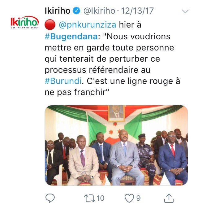 Iburundi On Twitter Thread Simonbizimana Burundiin Early
