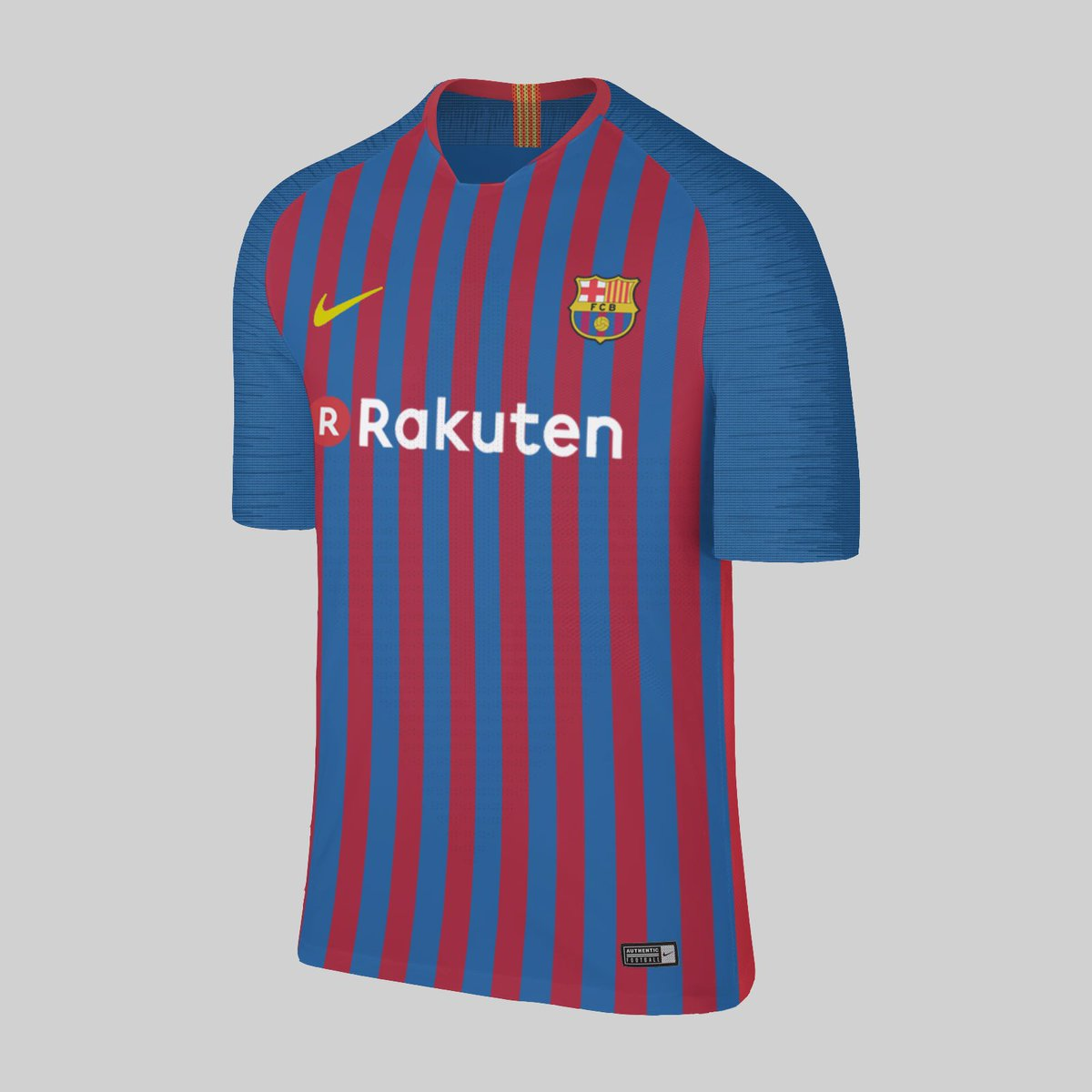 29ba8fc9a Nike Barcelona Home and Away Jersey 2018 Concept ○Based on Nike Aeroswift  2018 2019 Template  Footy Headlines  oneblacktie  sldesigns02  casakeros ...