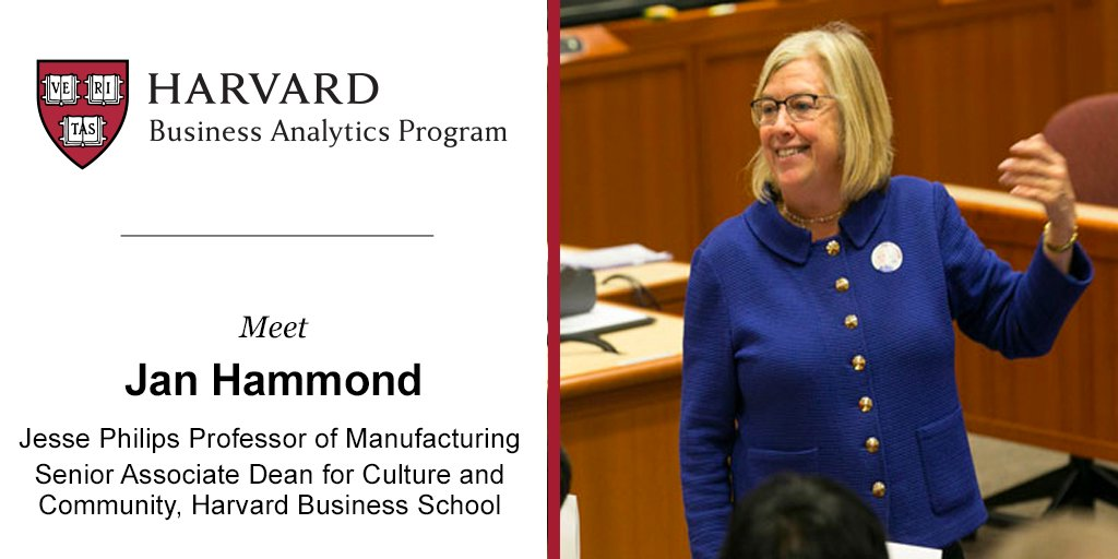 Harvard business analytics program