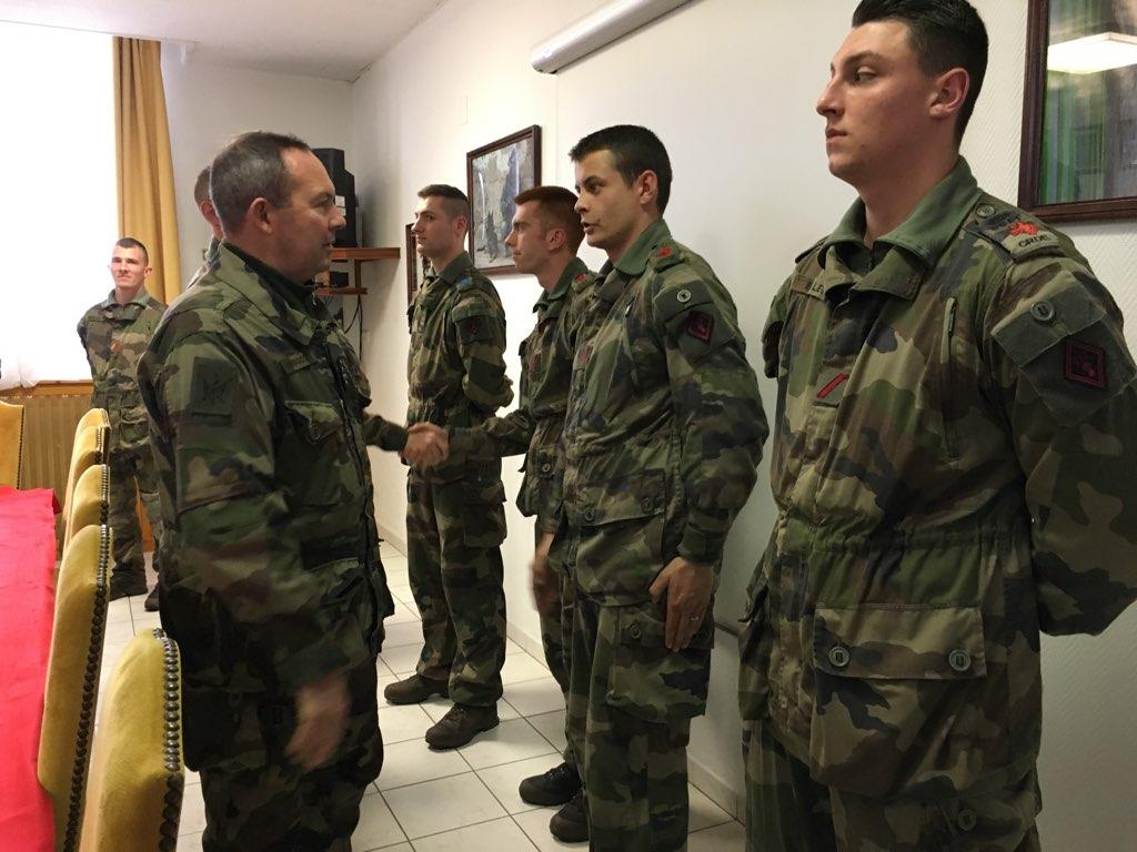 arm u00e9e de terre on twitter   u0026quot ce jour le cemat est en visite de commandement au 132e bataillon