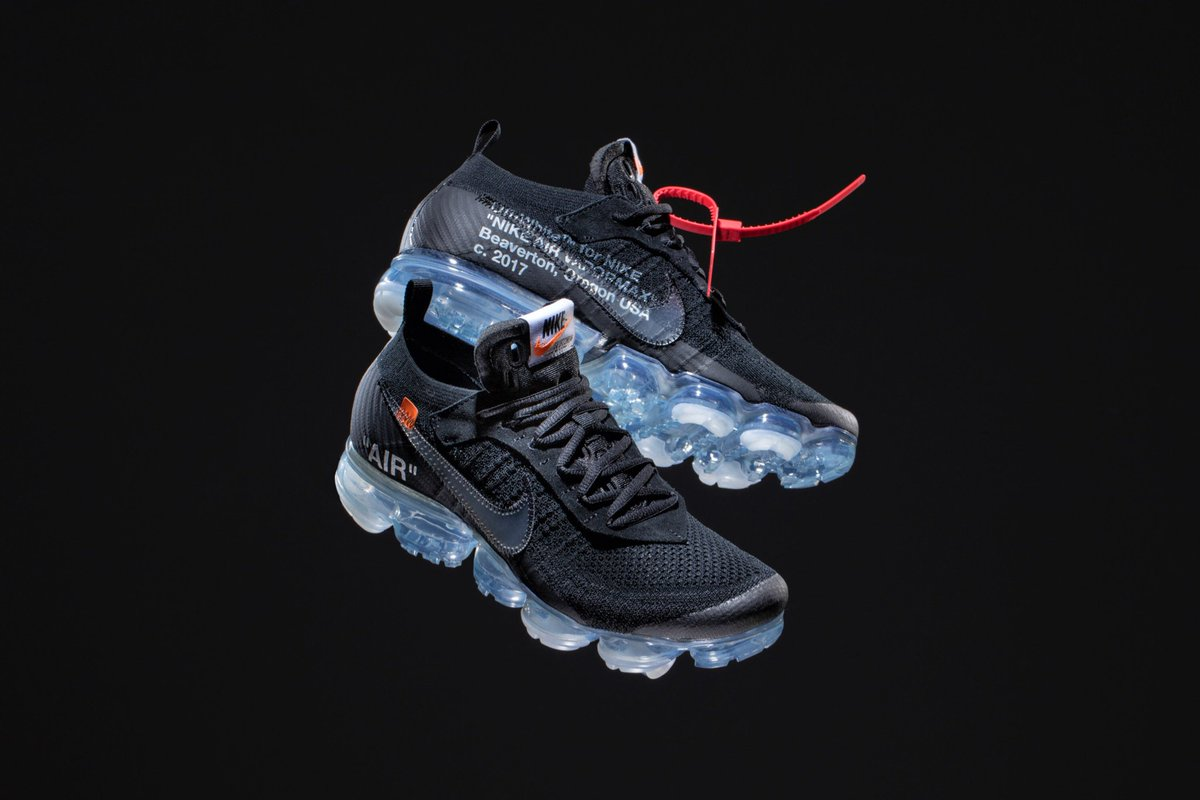 71af14db0ce5 ... the OFF WHITE x Nike Air VaporMax will be held THURSDAY (3 29) in our  Cambridge   New York locations from 12-6pm - Valid ID Required  cncpts  nike  ...