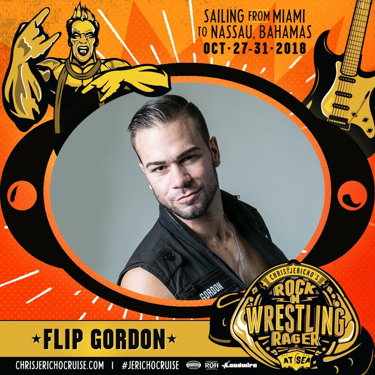 Roh Wrestling On Twitter Theflipgordon Joins The Jerichocruise