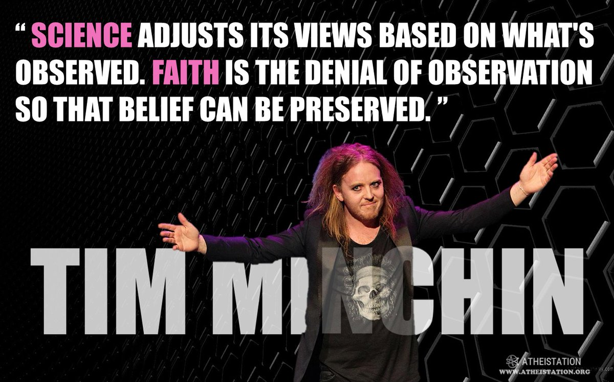 Atheistation On Twitter Science Vs Faith Religion Atheist