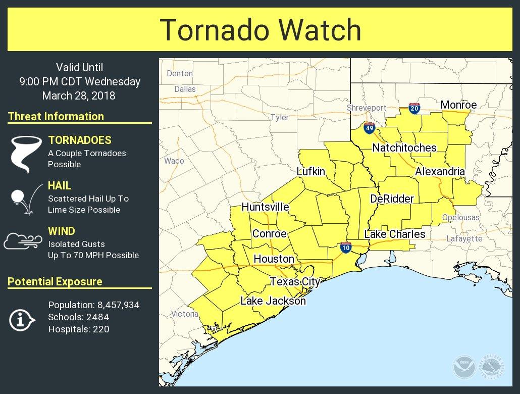 Twu Emergency Management On Twitter Houston Campus A Tornado