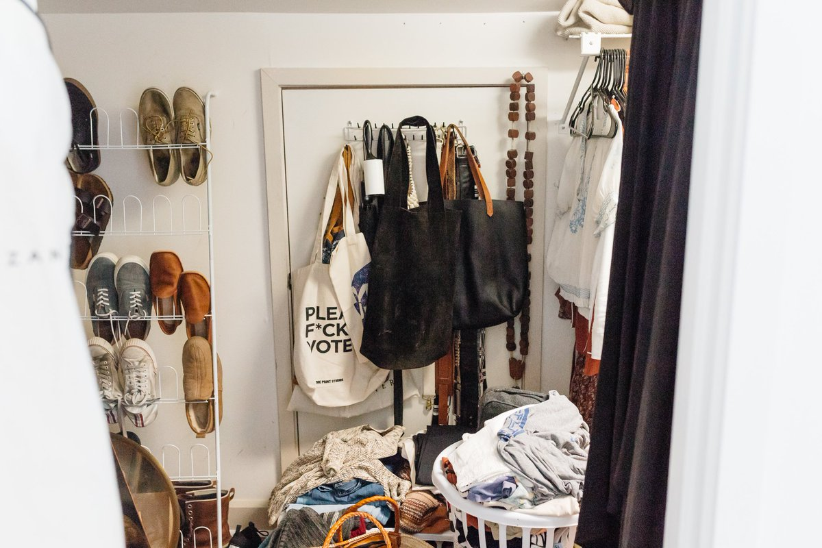 California Closets On Twitter Experience The Before And After We Recently Worked With Lifestyle Blogger Bleubirdblog On A Closet Upgrade Designed To Optimize Storage For A Small Space Thanks To Our Calclosetstn