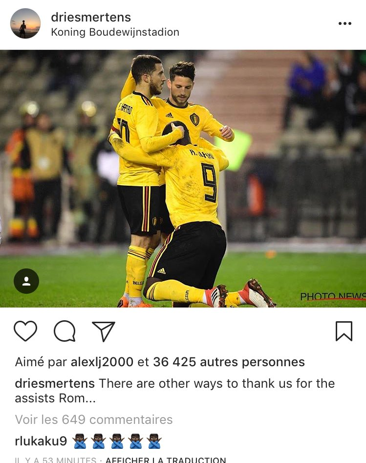 Dries Mertens : «Il y a d'autres façons de nous remercier Rom...» 😂