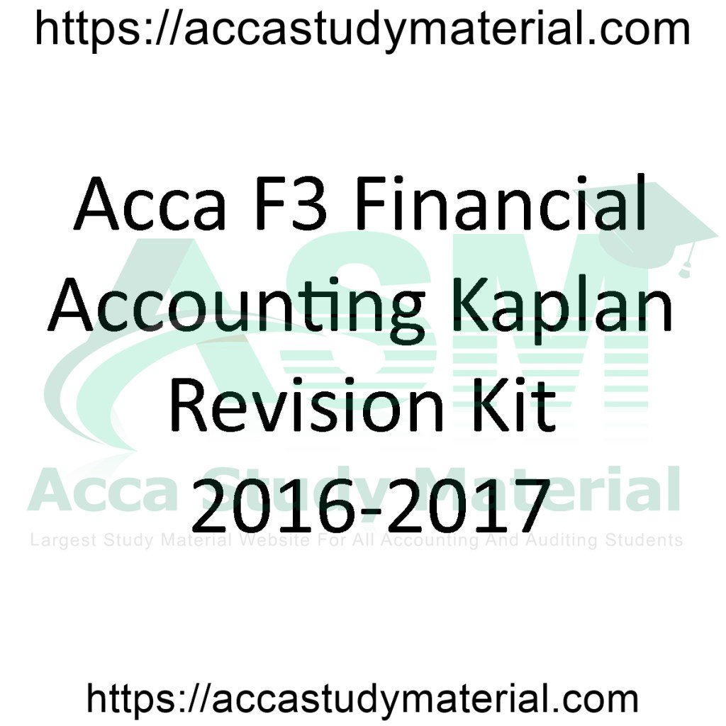 Acca Study Material (@accastudymateri) | Twitter