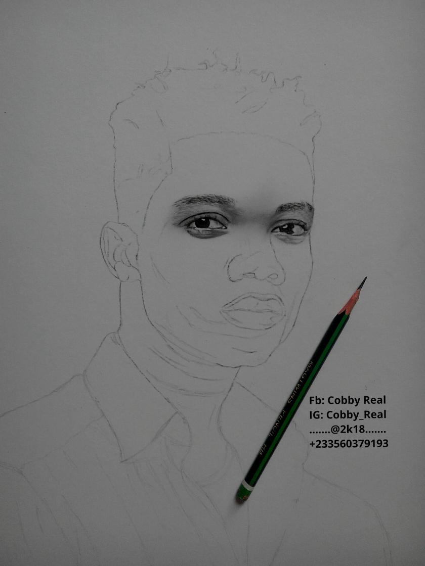 Cobby real on twitter my drawing of kidimusic in progress your comments are welcome plss