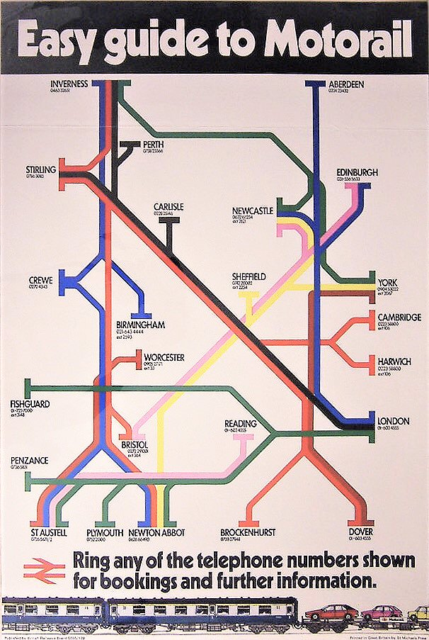The Motorail Routes