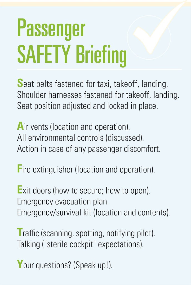 FAA Safety Briefing on Twitter:
