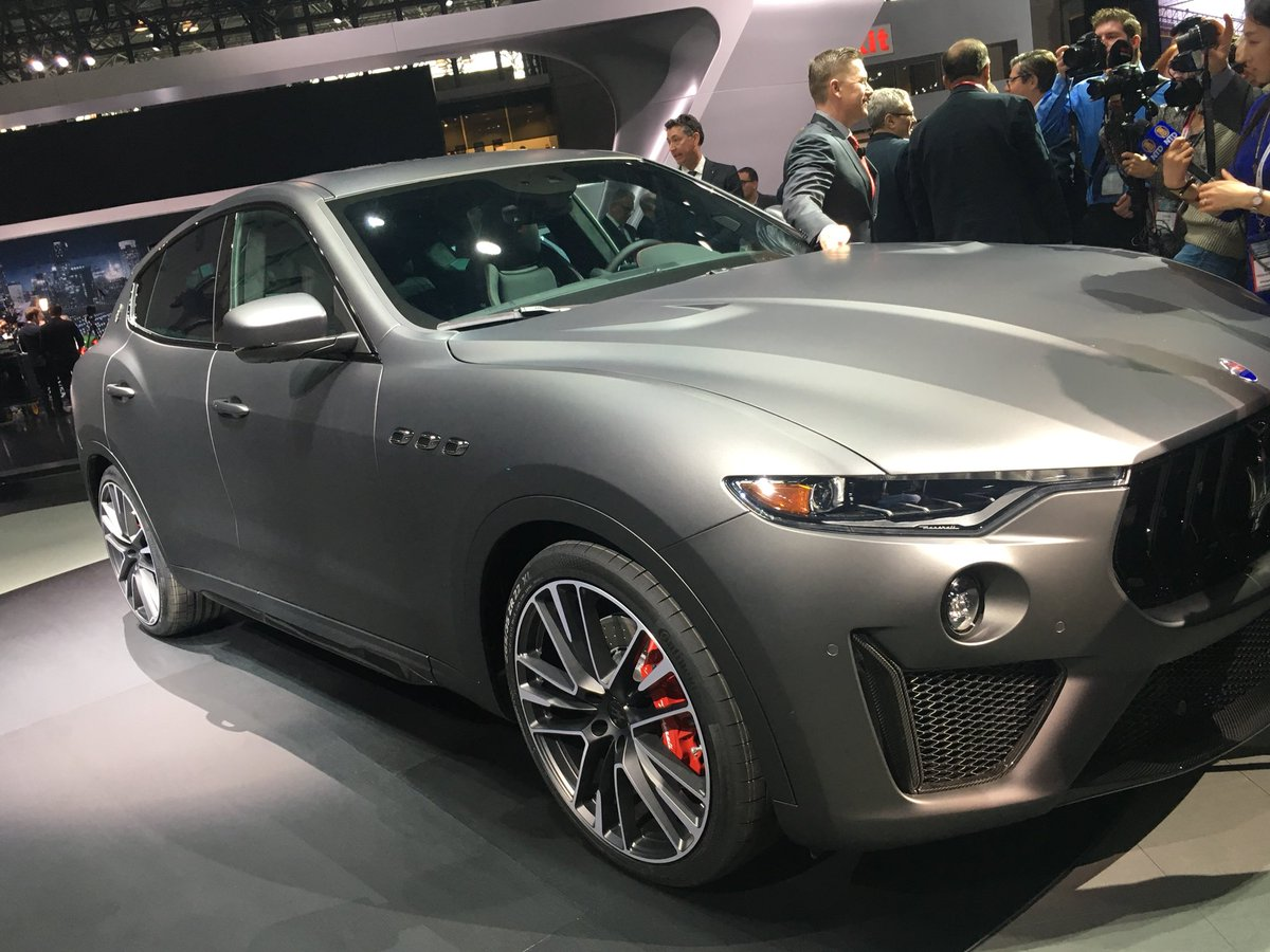 New York Auto Show On Twitter Get A First Look At MaseratiUSAs - Jacob javits center car show 2018