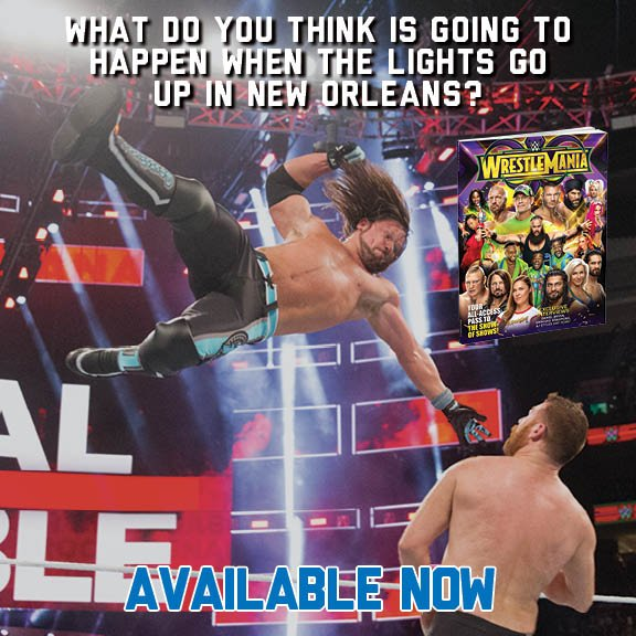 Find everything you need to know before the Showcase of the Immortals in the Official WrestleMania 34 Collectors Edition. Order: wwe.me/UFN4aU