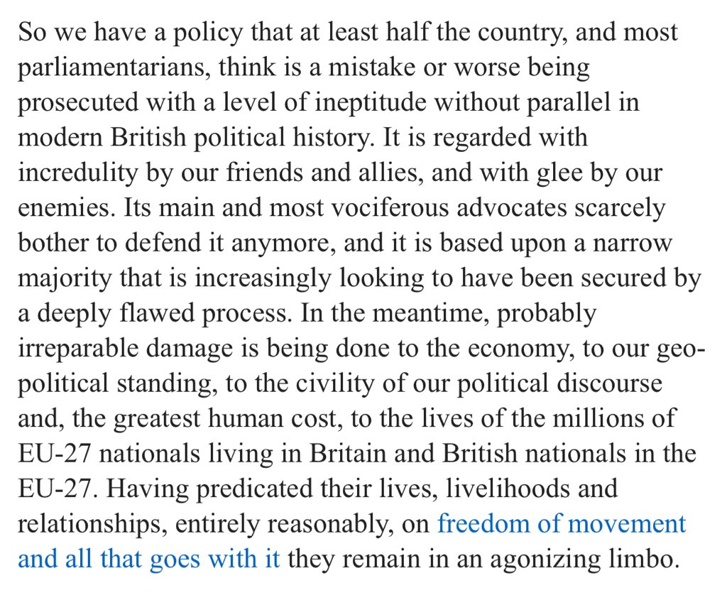 Dr Alan Firth On Twitter Key Sad Paragraph From Excellent 03 Blog Talk About Nail The Head In Full Is At Http Chrisgreybrexitblogblogspotcom 2018 A Year Into Article 50 Unrealityhtml