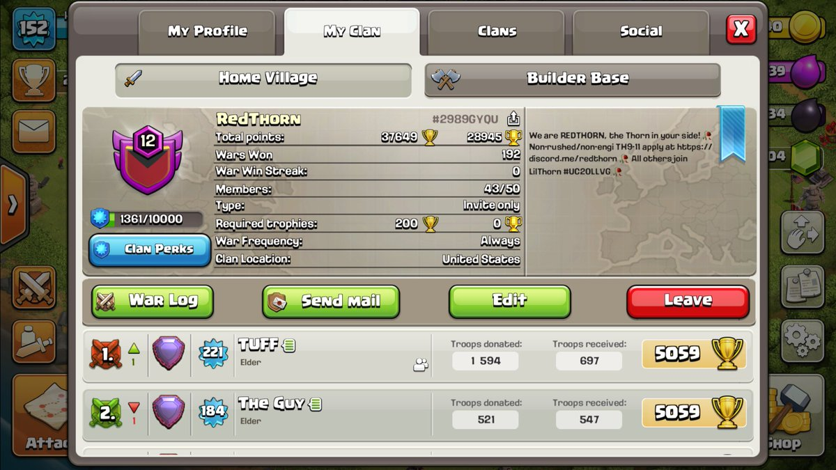 Clash of Clans on Twitter Is your Clan recruiting Use