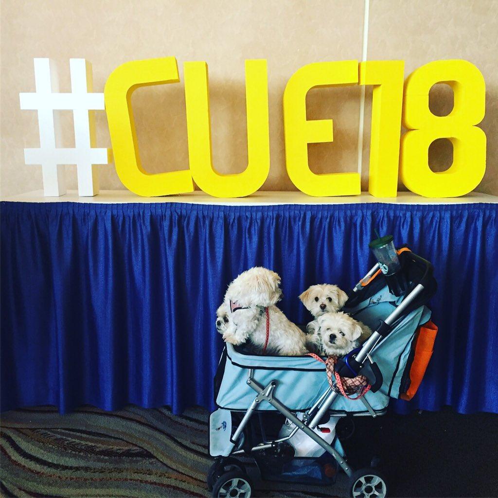 @MrSorensen805 @creativeedtech @CoriOrlando1 They had a blast!!! #DogsOfCUE #wearecue #CUE18