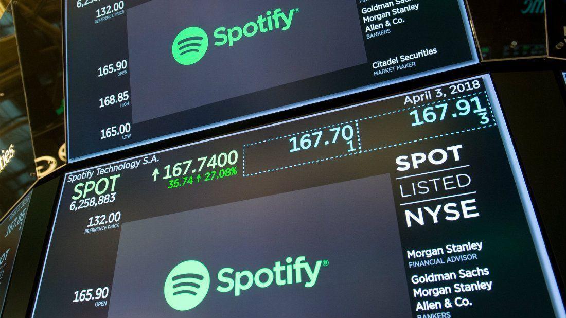 Spotify sale a bolsa y se valoriza en $26.500 millones https://t.co/88FTsCATFi https://t.co/yqi8onYuFm