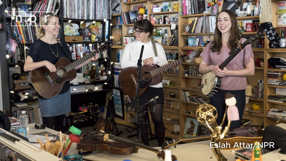 Reloaded twaddle – RT @nprmusic: As I'm With Her (@imwithherband), Sara Watkins (@SaraWatkins), Sar...