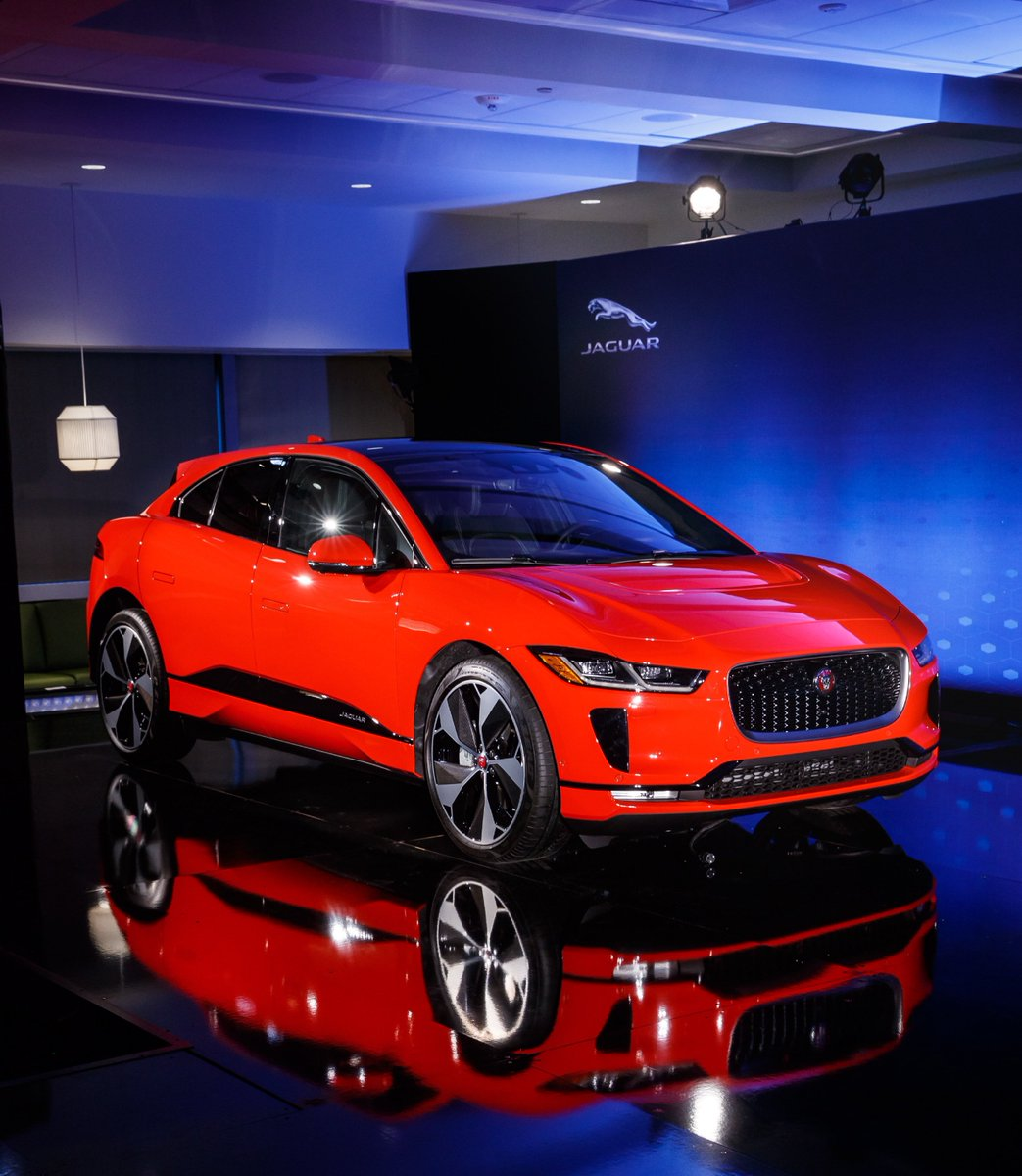 Electric city. #IPACE Similar to the technology found in the I?TYPE #FormulaE racing car, the motors in the I-PACE generate 394 HP and 512 Lb-Ft of torque. Feel the charge for yourself at the @nyautoshow, March 30-April 8 #NYIAS https://t.co/iadYknP9bT