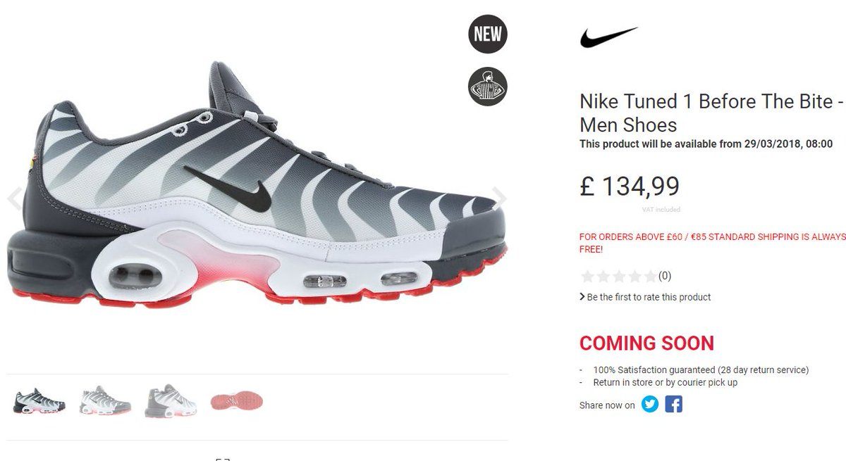 78627d9428 ... coupon code for the sole supplier on twitter nike air max plus tn  almost live at
