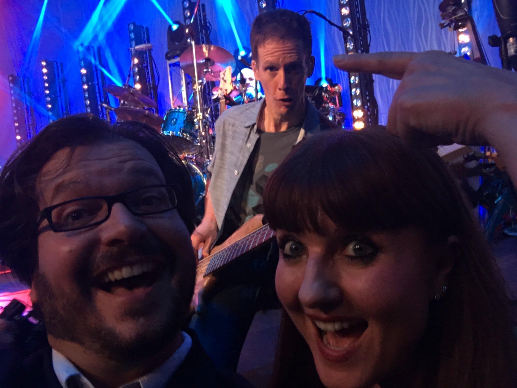Scott Pietrangelo On Twitter Impromptu Mid Song Selfie With The Ever Amazing Jim Creeggan Of Barenakedladies