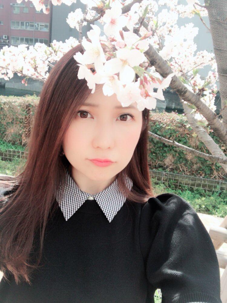 """藍澤慶子(けぴ) : """"今日も桜と♡ ..."""