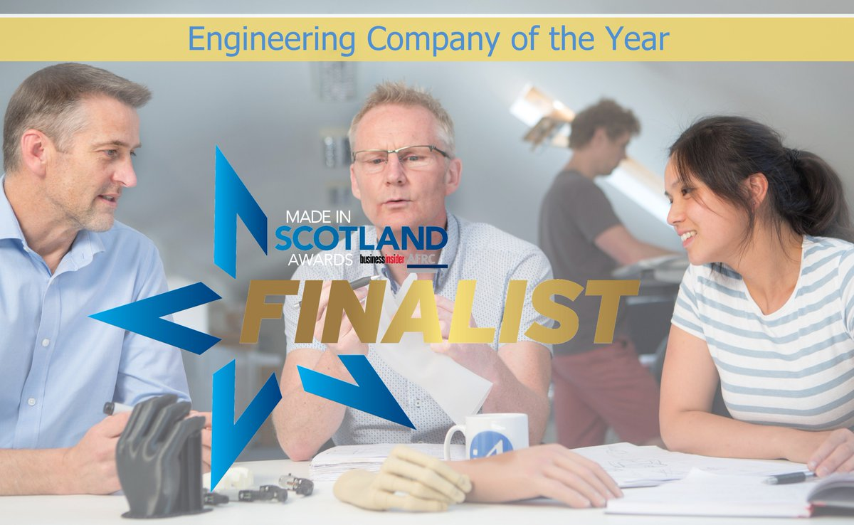 I4 Product Design On Twitter We Are Finalists In The Engineering Company Of The Year Category At The Made In Scotland Awards Night In A Few Weeks Time Many Thanks To Our