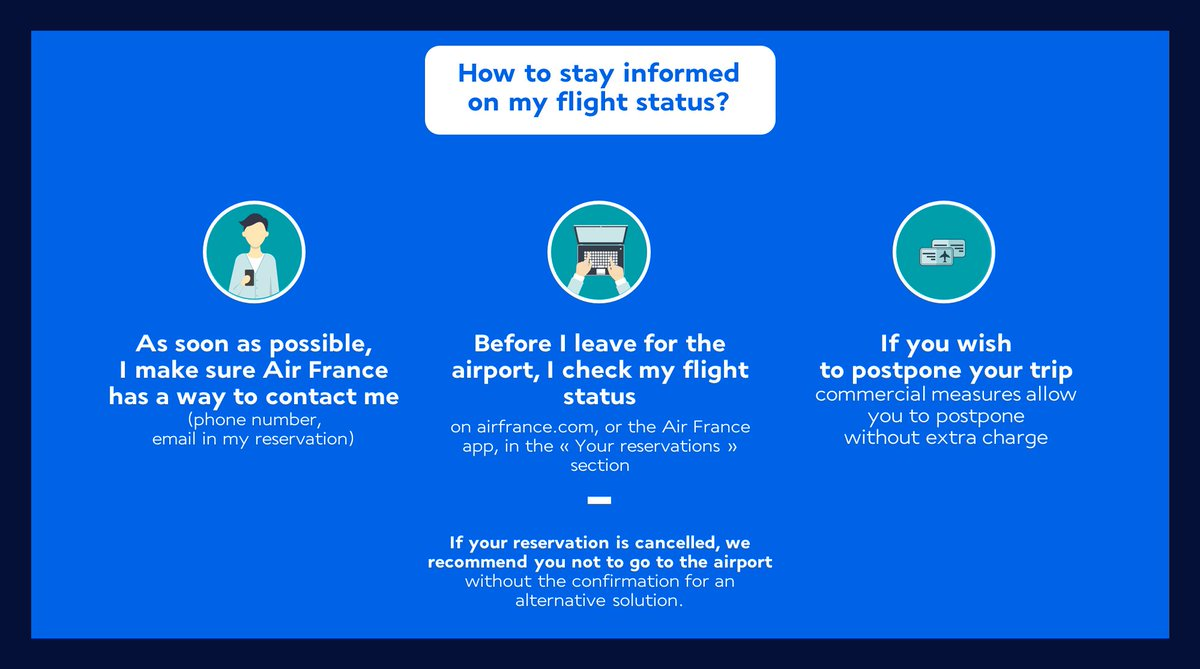 Air france airfrance twitter airfrance call for strike action on friday 30 march 76 of flights maintained httpbit2iczafi to check your flight status the commercial fandeluxe Choice Image