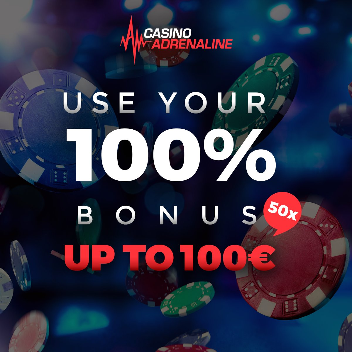 test Twitter Media - There is only one word for this combination, awesome! Use your 100% bonus up to 100 EUR 50x, bonus and deposit! 👌😄 #CasinoAdrenaline #CasinoAdrenalinebonus #playthegame #casinoslots https://t.co/uLDFltdZz2