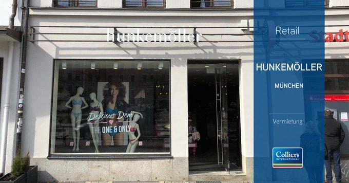 Der niederländische Lingerie-Spezialist @Hunkemoller setzt seinen Expansionskurs fort und hat seine neue Filiale am Gärtnerplatz in #München eröffnet. Colliers International war für den Mieter beratend und vermittelnd tätig.<br><br>Alle Informationen:  t.co/GdXcPsOyfe