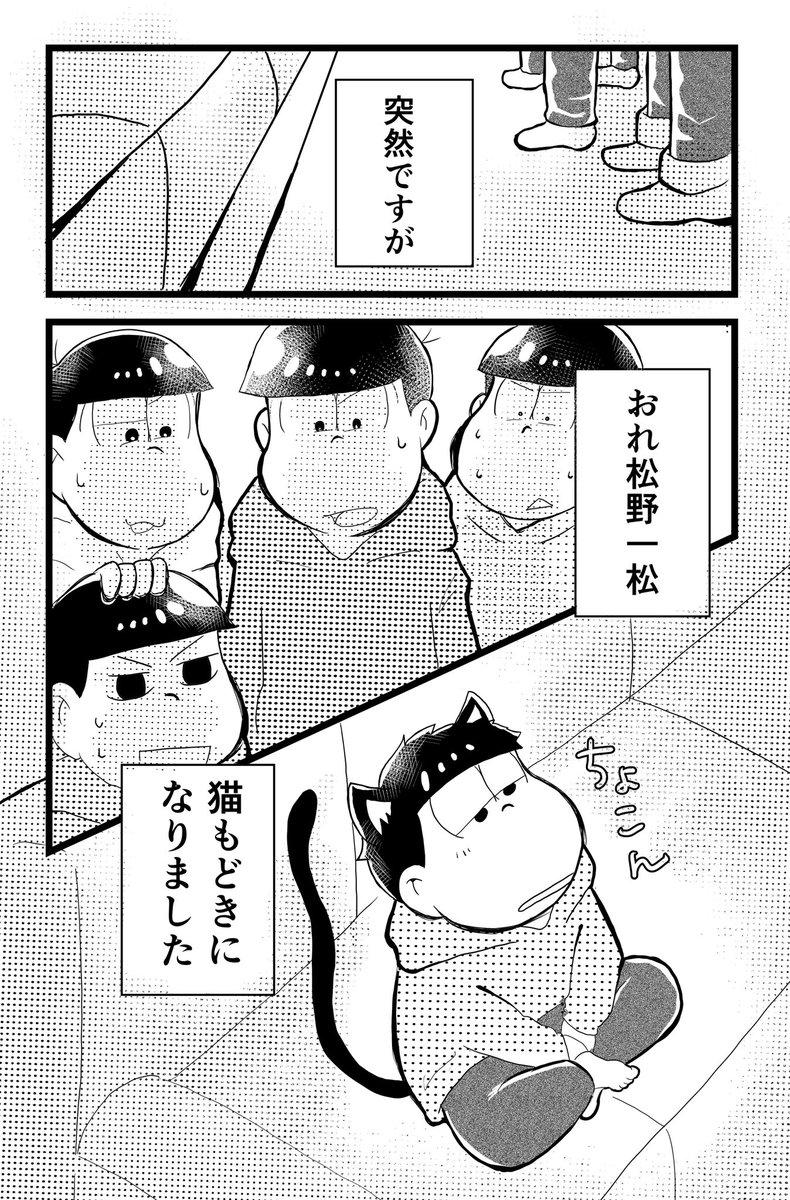 突然ですが おれ松野一松 猫もどきになりました