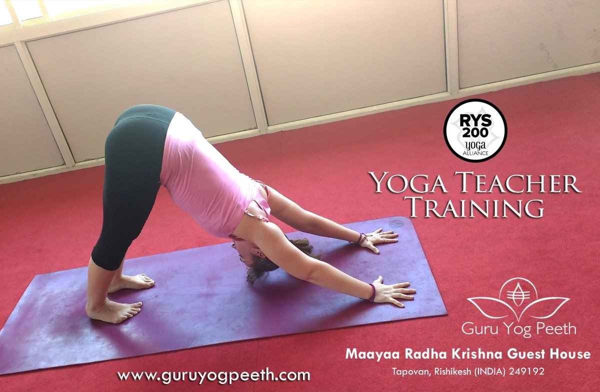 A complete guide is here for the upcoming #200_Hour #Teacher_Training_Course to be held in #Guru_Yog_Peeth, #Rishikesh, #India. Be the part of this astonishing #yoga_training_program and move one more step ahead to your dream of becoming a teacher.  More: http://guruyogpeeth.com