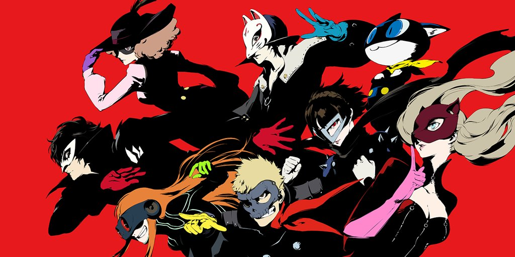 Show your true form with these limited edition premium persona5 art prints from cook becker and atlususa