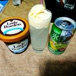 子供の飲みものじゃない?大人のクリームソーダはこの二つで出来る!