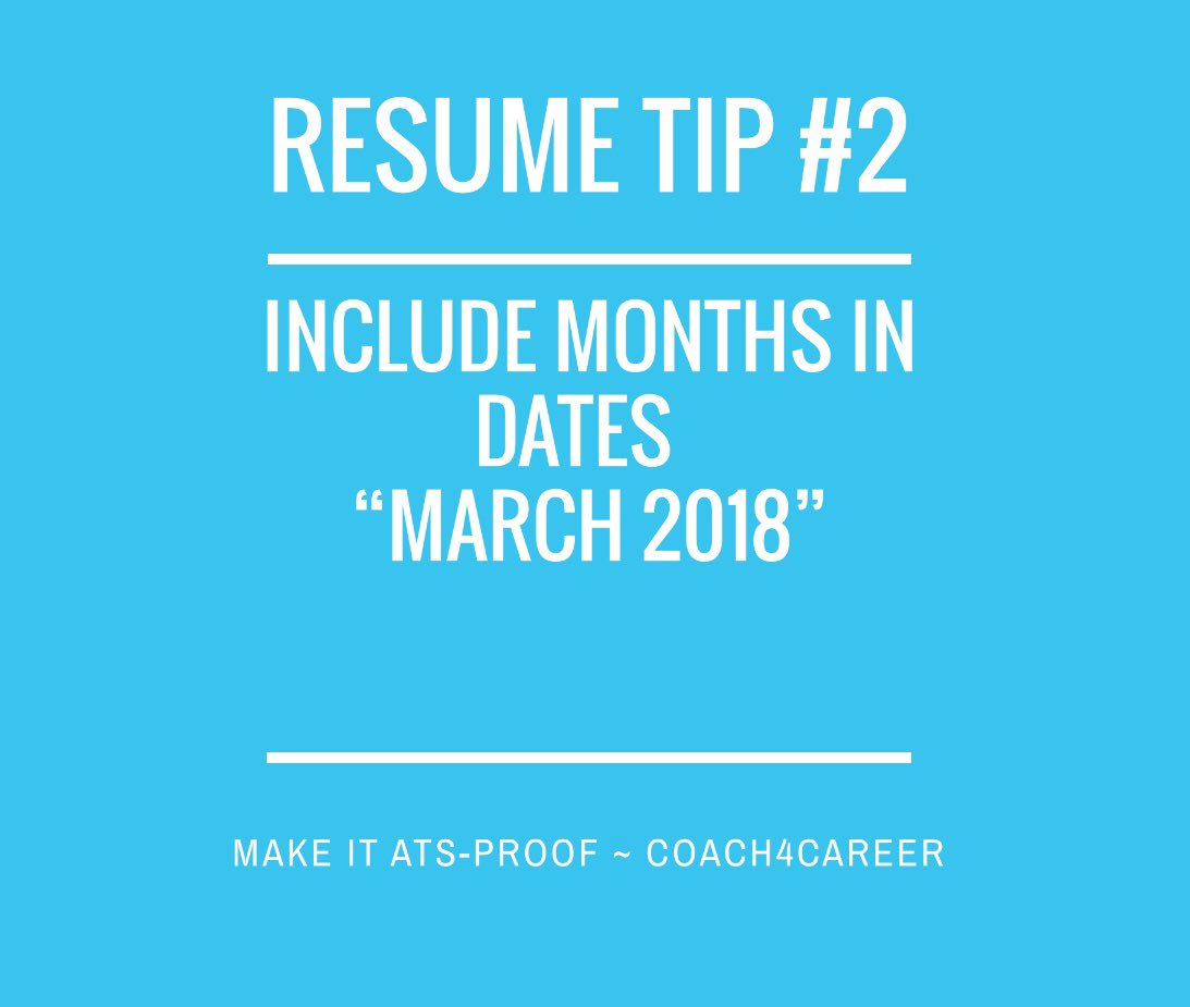 sheila taylor on twitter ats friendly tip for your resume