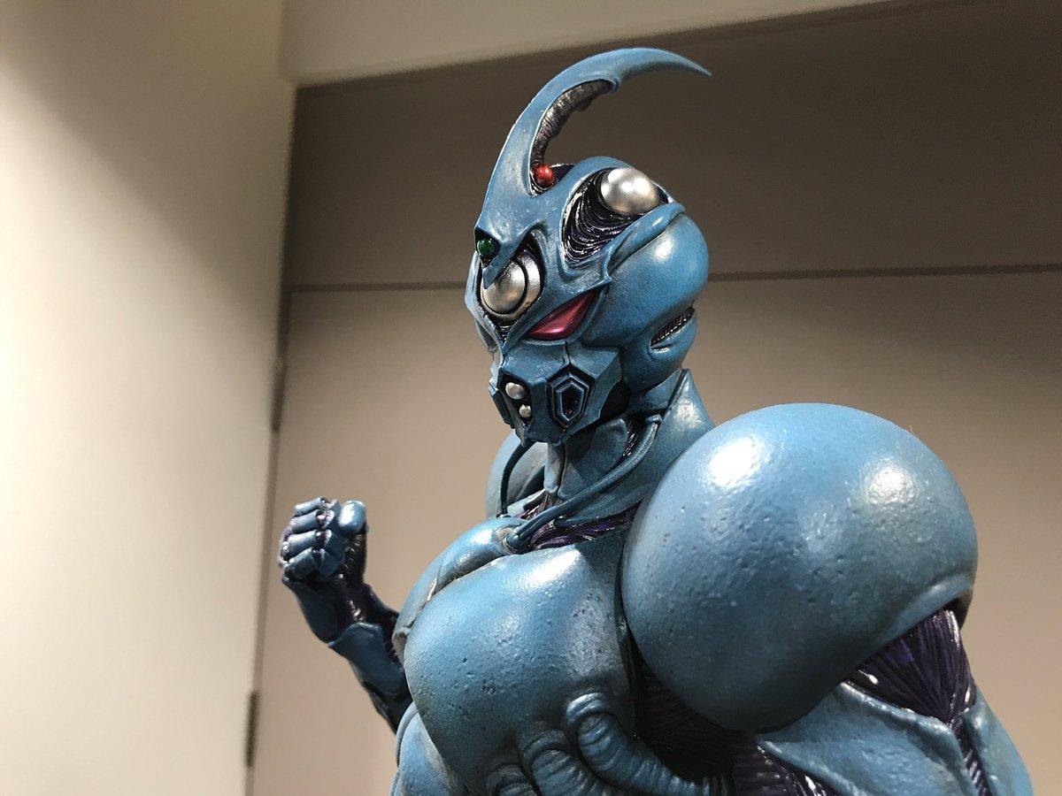 ガイバー0とガイバー1!このメーカーさんはガイバーも制作されてるのね〜(^^) 有楽町マルイのプライム1さんの展示会にて! #prime1studio