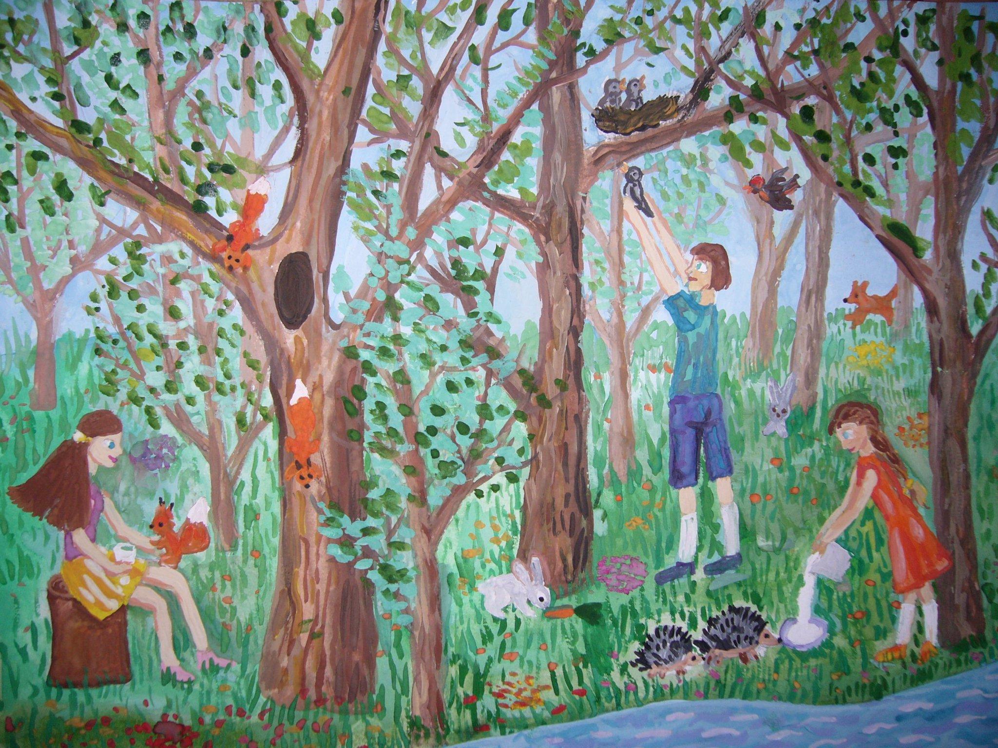картинки забота о лесе вот серик, это